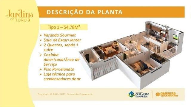 50/Apê Turu, 2 e 3 quartos,elevador e suíte! - Foto 6