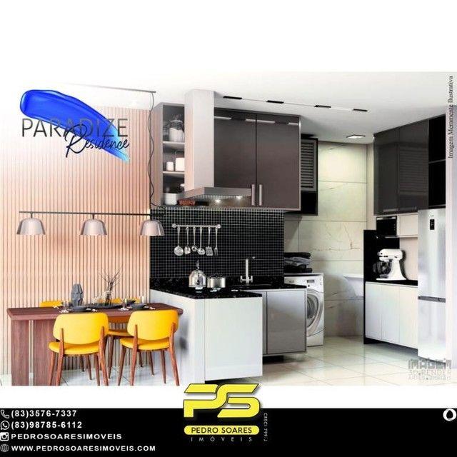 Apartamento com 1 dormitório à venda, 35 m² por R$ 195.000 - Aeroclube - João Pessoa/PB - Foto 2
