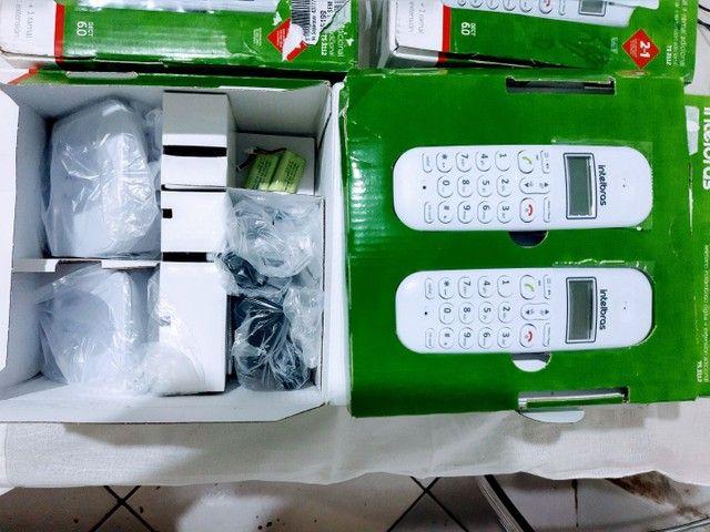 Telefone s/ fio Dect 6.0 c/ identificador de chamadas + ramal branco TS3112 Intelbras - Foto 2