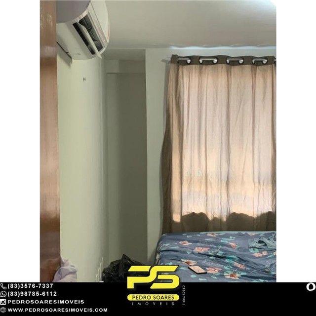 (MOBILIADO) Apartamento com 2 dormitórios à venda, 60 m² por R$ 360.000 - Tambaú - João Pe - Foto 5