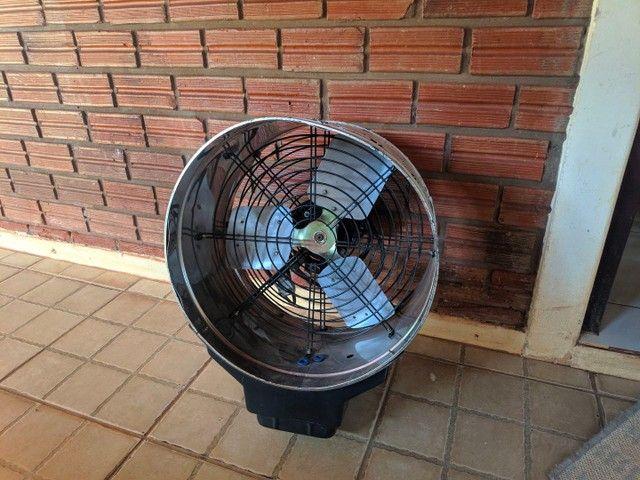 Umidificador Ventilador Climatizador Industrial Inox