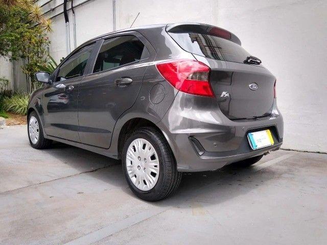 Ford Ka Se Plus 1.5 Automatico 2020 Cinza  - Foto 4