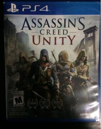 Assasins Creed Unity PS4