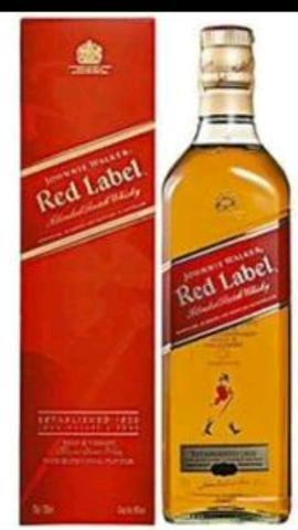 Red label promoção