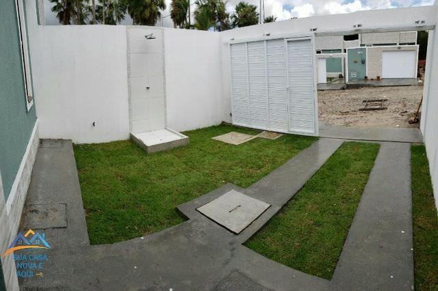 Casas com 2 quartos, suíte com 87m² de área construída na melhor localização do Pedras - Foto 2