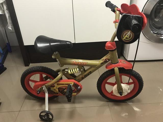 5ae5777e5 Bicicleta infantil Avengers Aro 12 novíssima - Artigos infantis ...