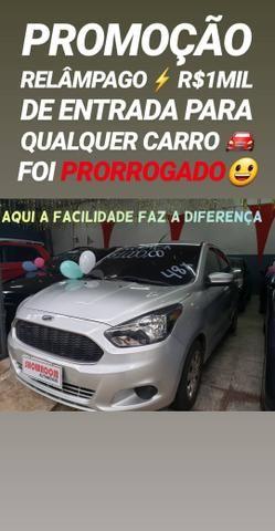 Ford/KA 1.0 SE ANO 2017 COM R$1MIL DE ENTRADA SÓ NA SHOWROOM AUTOMÓVEIS