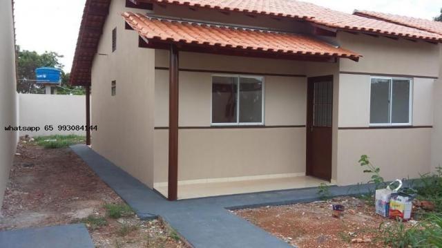 Casa para venda em várzea grande, novo mundo, 2 dormitórios, 1 banheiro, 4 vagas - Foto 11