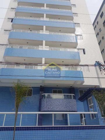 Apartamento à venda com 2 dormitórios em Ocian, Praia grande cod:ES294