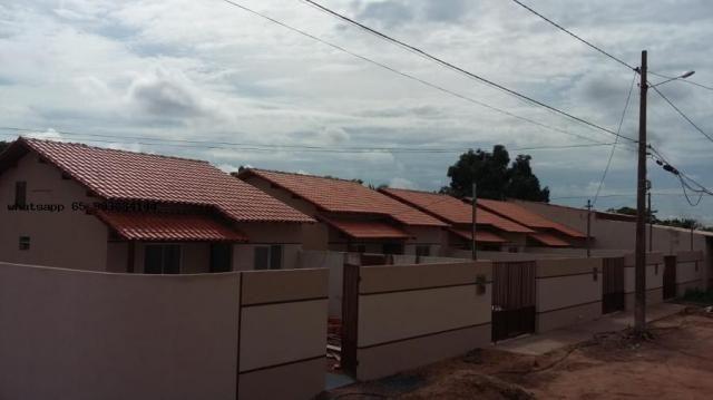 Casa para venda em várzea grande, novo mundo, 2 dormitórios, 1 banheiro, 4 vagas - Foto 4