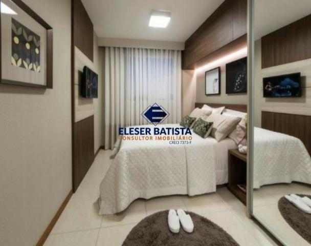 DWC - Apartamento Veredas Buritis 2 Quartos c/ suite Colinas de Laranjeiras - ES - Foto 14