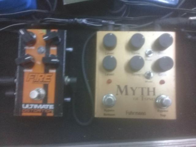 Myth of tones e distortion fire - Instrumentos musicais