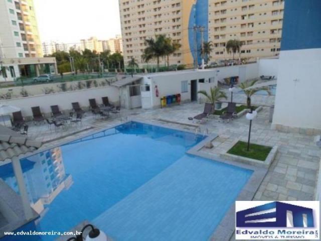 Apartamento 2 quartos para temporada em caldas novas, cezar park, 2 dormitórios, 1 banheir - Foto 8
