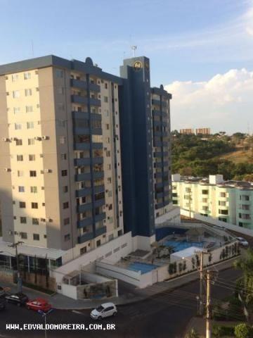 Apartamento 2 quartos para temporada em caldas novas, cezar park, 2 dormitórios, 1 banheir - Foto 3