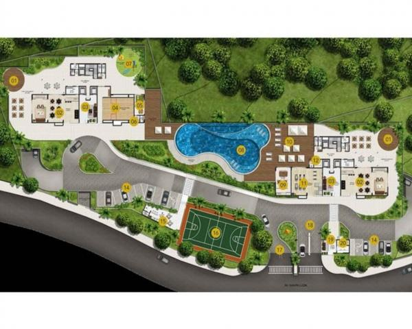 Apartamento à venda com 4 dormitórios em Horto florestal, Salvador cod:N45809 - Foto 6