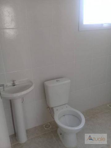 Apartamento com 2 dormitórios à venda, 59 m² - jardim santa rita i - nova odessa/sp - Foto 6