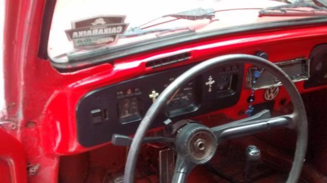 Fusca volkswagen-vermelho - Foto 4