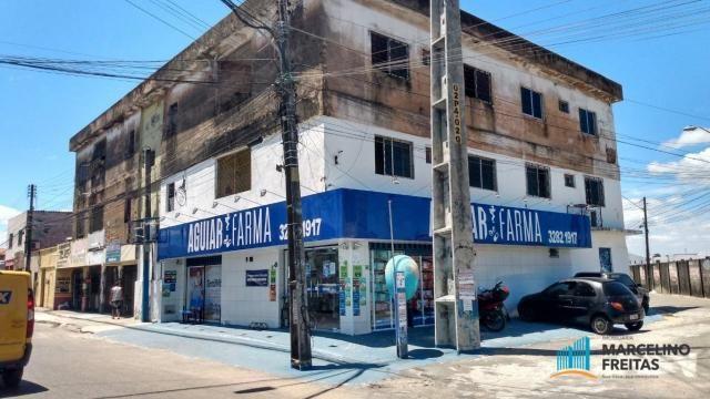 Apartamento com 2 dormitórios para alugar, 30 m² por r$ 579,00/mês - presidente kennedy -