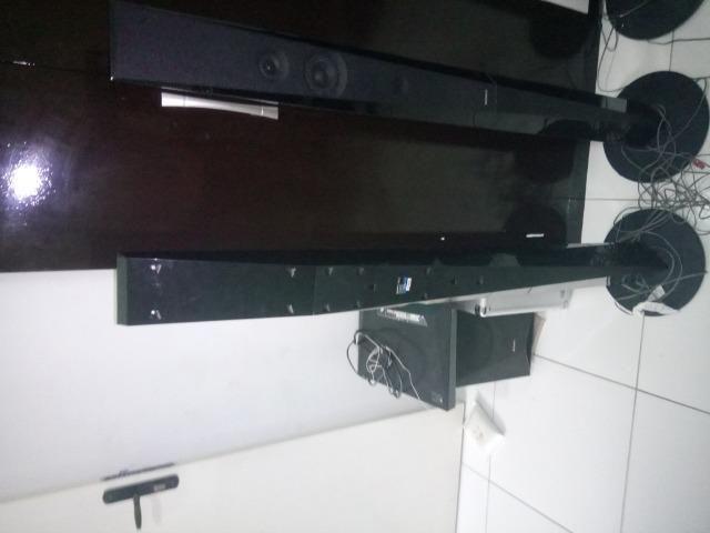 4Torres e 1 caixa central e o Subwoofer do home Theater sony Bdv-e6100 - Foto 3