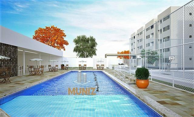 RS Apartamento, Candeias, Jaboatão, 2 quartos com Suíte, Varanda, Entrada Facilitada - Foto 10