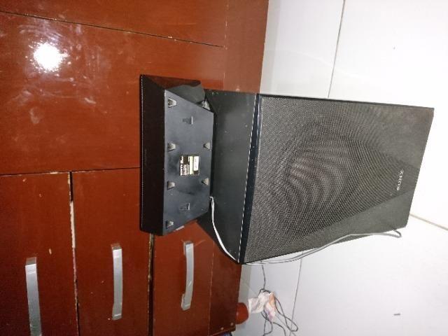 4Torres e 1 caixa central e o Subwoofer do home Theater sony Bdv-e6100