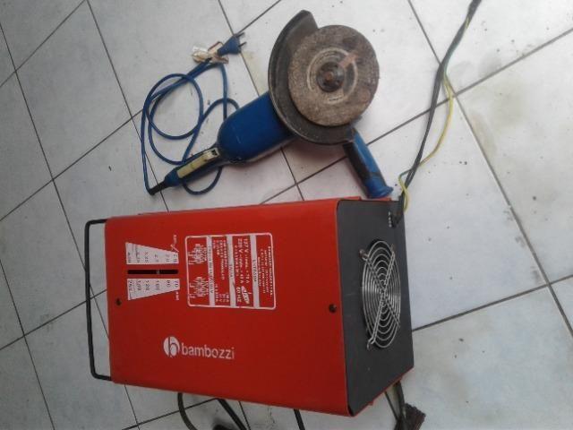 Máquina de solda e lixadeira - Foto 2