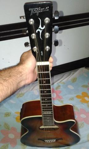 Vendo ou troco violão Tagima Dallas - Foto 4