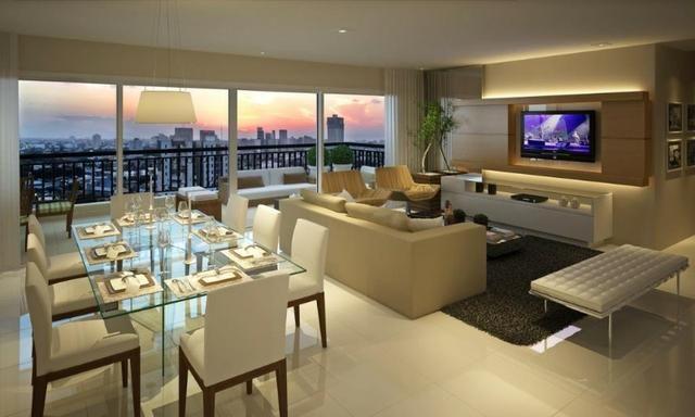 Campobelo, Apartamento no Cocó com 220mts, cozinha e varanda gourmet - Foto 17