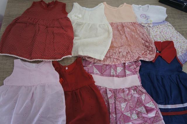 Roupa / lote de vestido