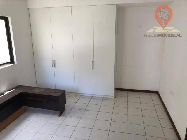 Apartamento com 1 dormitório à venda, 54 m² por R$ 220.000,00 - Jatiúca - Maceió/AL - Foto 12