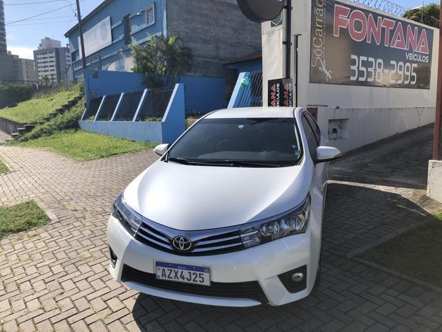 Toyota Corolla XEi 2.0 2015/2016 Placa A Único Dono Top de Linha IPVA 2020 PAGO - Foto 2