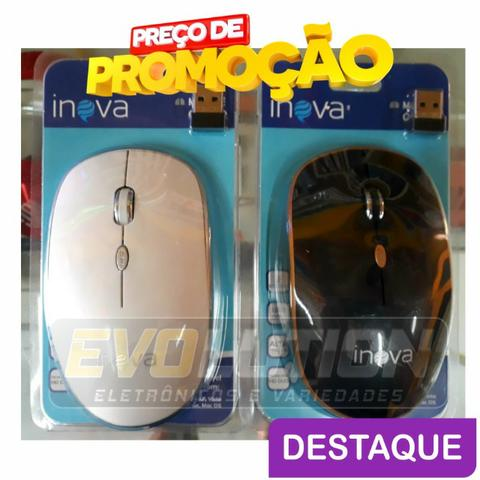 Mouse sem fio Inova 2.4 ghz Promoção Aproveite