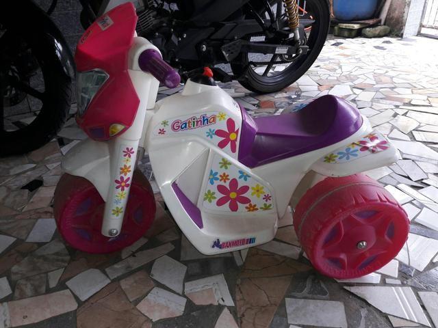 Moto para criança com bateria - Foto 4