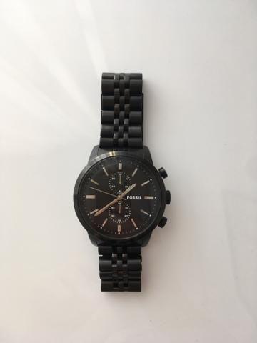 Relógio Fóssil - preto - masculino - original - Bijouterias ... 5f05064f77