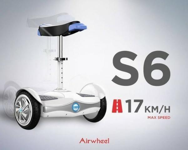 bbd514f07c Scooter Elétrico Airwheel 2rodas Bateria Samsung 8   Temos Motoboy Loja  Madureira