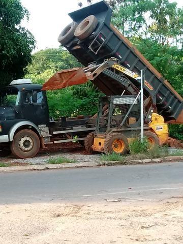 Locação de bob cat e caminhão caçamba