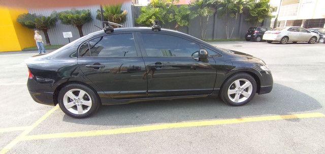 Honda Civic 2009/2009 - 113.900km- Única dona!!! - Foto 6