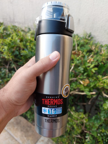 Garrafa térmica (squeeze) - Thermos 530ml - Foto 3