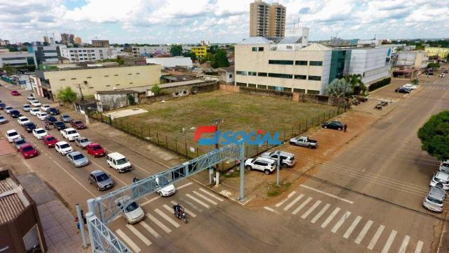 Ótimo Terreno para locação, Frente Para Av. Carlos Gomes, Sub Esquina com Rafael Vaz e Sil