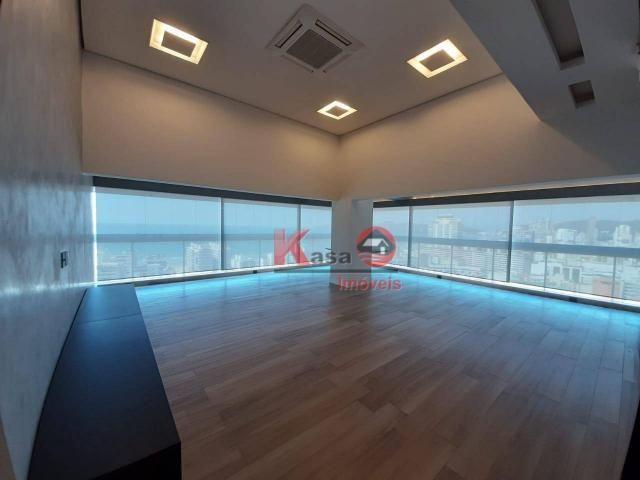 Cobertura com 4 dormitórios à venda, 410 m² por R$ 7.500.000,00 - Gonzaga - Santos/SP - Foto 15
