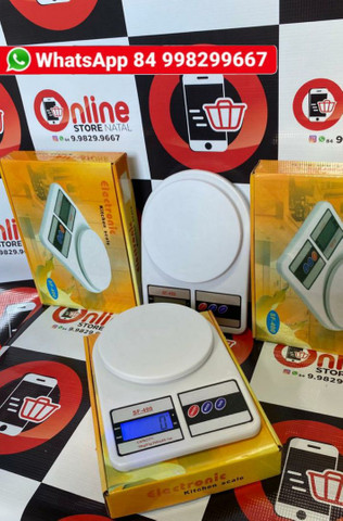 Balança Digital de 1g a 10Kg de precisão para dieta cozinha e outros<br>