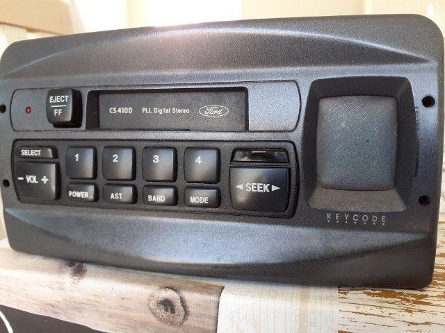 Rádio toca fitas original Ford
