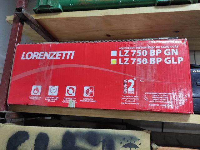 Aquecedor Lorenzetti COM KIT INSTALAÇÃO