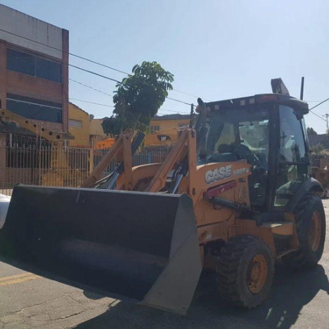 Retro Escavadeira Case 580n 4x4 2013 - Foto 3