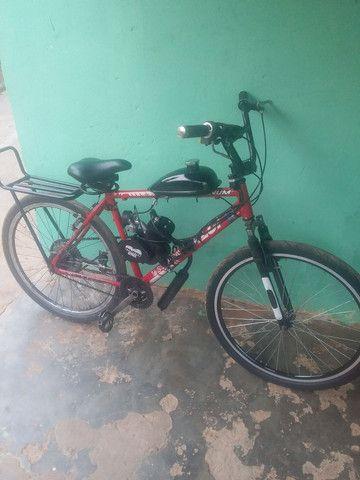 Bike motorizada 80cc Semi nova