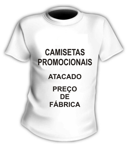 Camisetas Para Uniformes ou Brindes
