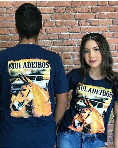 Camisetas masculina e femininas - Foto 5