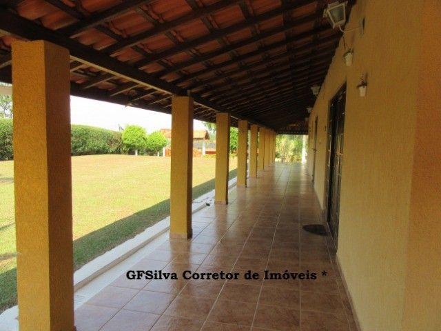 Chácara 1.500 m2 Condominio Fechado Casa 3 dorm. píscina Ref. 453 Silva Corretor - Foto 4
