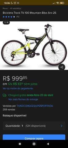 Bike Track aro 26 - Foto 3