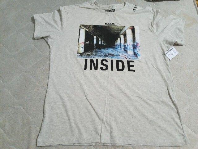 5 Camisetas Masculinas GG  - Foto 5